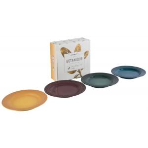 Le Creuset Botanique Collection Dessertbordjes 17 cm (4 Kleuren)