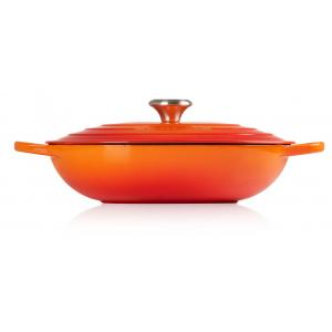Le Creuset Oblong Lage Braadpan Ovaal 31 cm Oranjerood