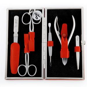 Alpen Manicure set 6-delig Rood (6884r)