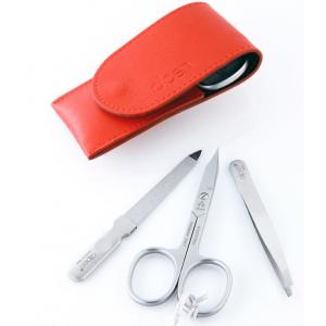 Alpen Manicure set 3-delig Rood (6804R)