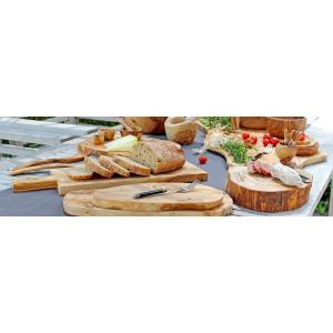 Bowls en Dishes Olijfhouten Tapasplank 25 tot 30 cm