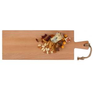 Puur Hout Serveerplank Beuken met Handvat (59 x 20 cm)