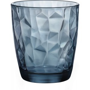 Bormioli Drinkglas Diamond Blauw 30.5 cl