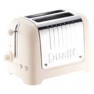 Dualit Lite Broodrooster Canvas White