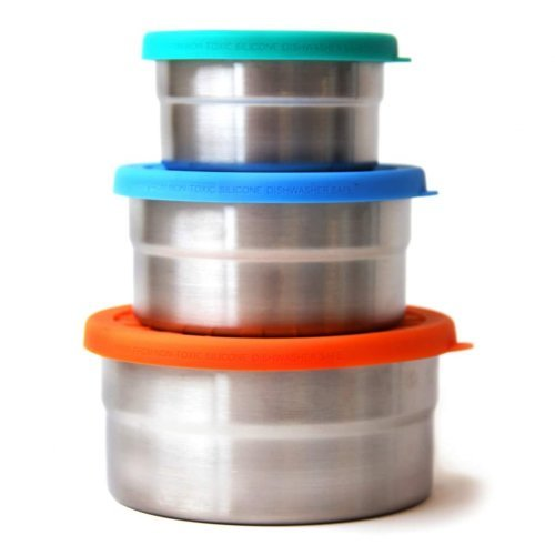 Blue Water Bento Lunchbox Seal Cup Trio