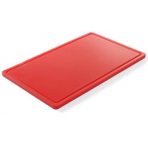 Hendi Snijplank 32.5 x 26.5 cm Rood