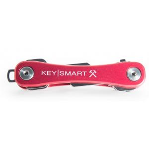 KeySmart Rugged Sleutelhouder Rood