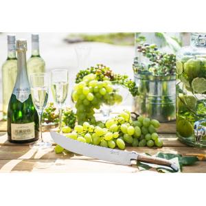Laguiole Champagnesabel Olijfhout