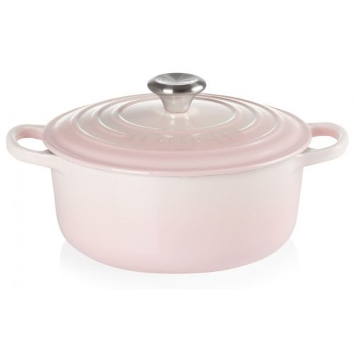 Le Creuset Signature Braadpan 24cm Shell Pink