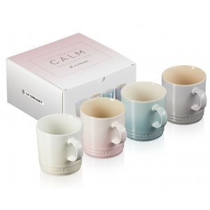 Le Creuset Calm Collection Koffiebekers 200 ml (4 Kleuren)