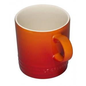Le Creuset Koffiebeker Oranjerood 200ml