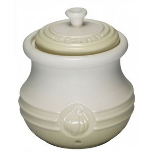 Le Creuset Knoflook Opslagpotje Wit