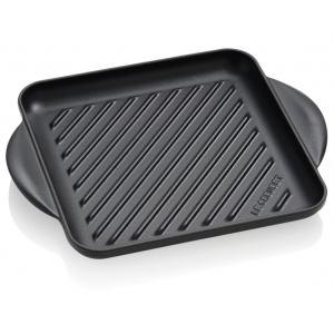 Le Creuset Grillplaat Zwart 24cm