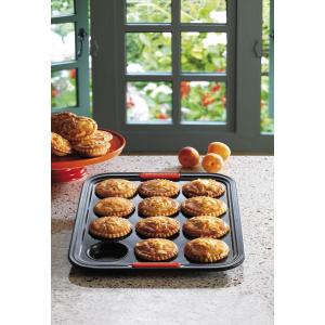 Le Creuset bakvorm voor 12 taartjes