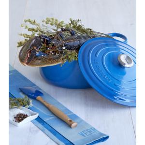Le Creuset Silicone Pro Spatel Medium Blauw