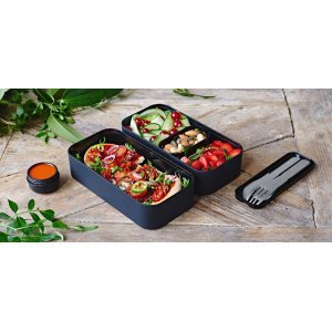 Monbento Bento Original • Lunch Box Black Onyx