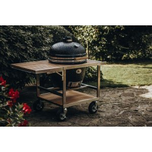 Monolith Le Chef Pro Grill Zwart met Buggy