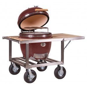 Monolith Le Chef Pro Grill Rood met Buggy