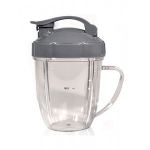 Nutribullet Beker met Flip Top Deksel (532ml)
