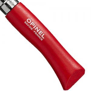 Opinel Zakmes Afgerond no. 7 Roestvrij Rood