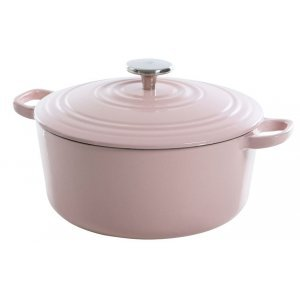BK Bourgogne Gietijzeren Braadpan Dusky Pink 24 cm