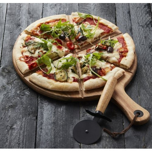 Point Virgule Pizza Snijplank + Pizzames