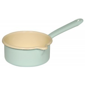 Riess Emaille Steelpan Turquoise 14 cm