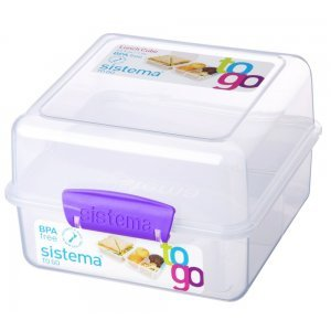 Sistema Lunch Cube Paars