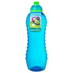 Sistema Waterfles 620 ml Twist & Sip Blauw