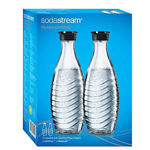SodaStream Glazen karaffen DuoPack 0.75 Liter