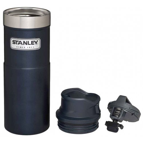 Stanley Classic Trigger Thermosbeker Blauw 470 ml