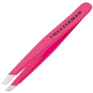 Tweezerman Mini Slant Pincet Roze