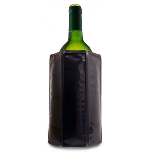 Vacuvin Rapid Ice Wijnkoeler Zwart