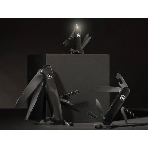Victorinox Onyx Black Zakmes Ranger Grip 55
