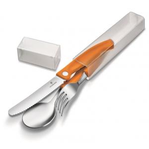 Victorinox 3-delig Bestekset Oranje
