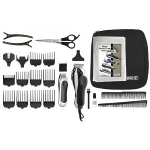 Wahl Deluxe Chrome Pro Tondeuse en Trimmer