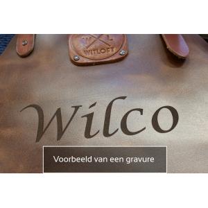 WitLoft Leren Korte Dames Sloof Cognac
