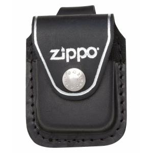 Zwart Leren Hoesje Voor Zippo