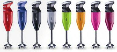 bamix mixers zijn verkrijgbaar in diverse kleuren