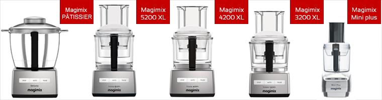afmetingen magimix machines