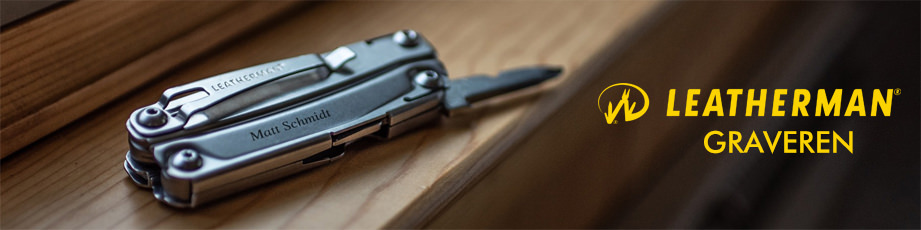 Leatherman Multitool Graveren