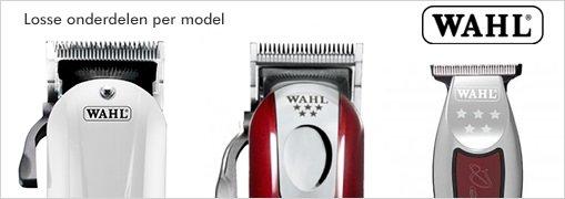 onderdelen voor Wahl tondeuses