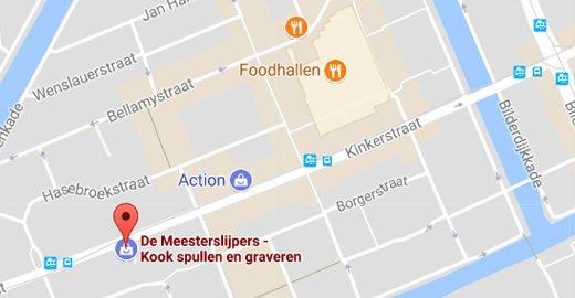 find us in the Kinkerstraat