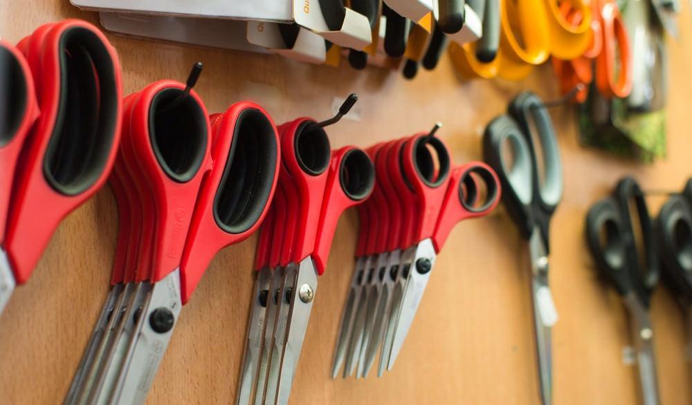 Ook stof- en huishoudscharen vind je in onze kookwinkel