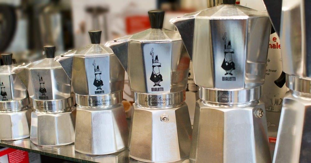 Echt italiaanse koffie met de percolators van Bialetti