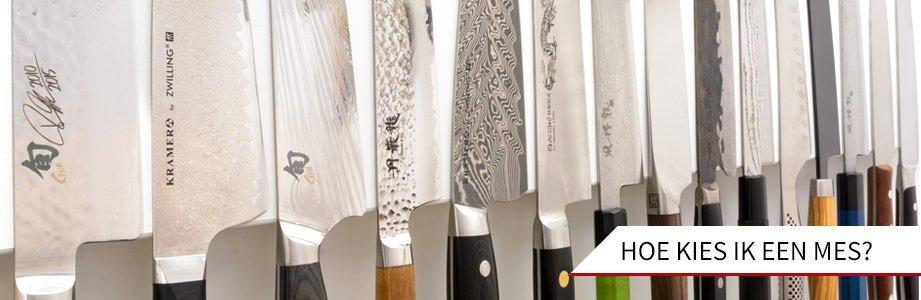 wij helpen je bij het kiezen van een mes