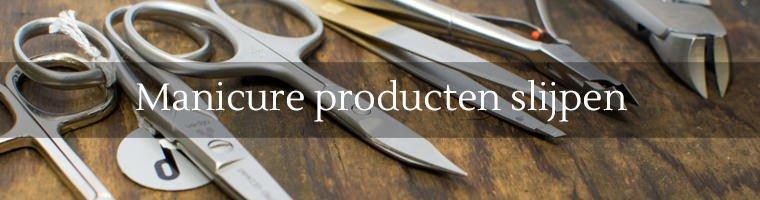 wij slijpen geen manicure producten