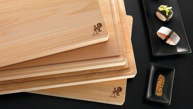 Japanse hinoki snijplank