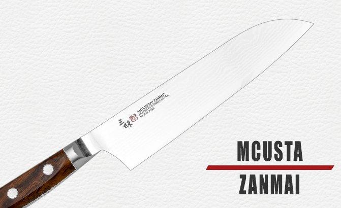 Mcusta Zanmai messen