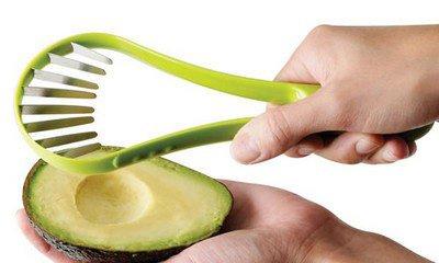 avocado's makkelijk gesneden